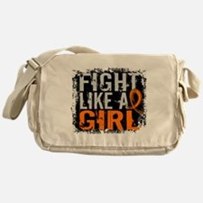Fight Like a Girl 31.8 Leukemia Messenger Bag