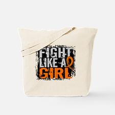 Fight Like a Girl 31.8 Leukemia Tote Bag