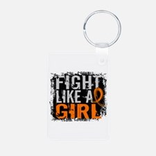 Fight Like a Girl 31.8 Leukemia Keychains