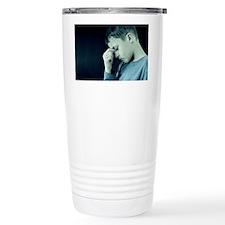 Unhappy boy - Travel Mug