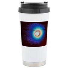 Vega image of Halley's comet - Travel Mug