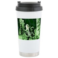 Bacteriophage virus, artwork - Travel Mug