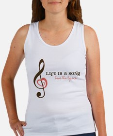 Love The Lyrics Women's Tank Top