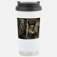 19th-century coal mining - Travel Mug