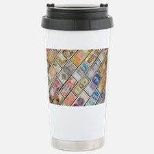 Bank notes of various nationalities - Travel Mug