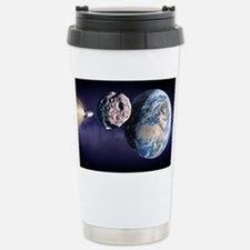 Asteroid deflection - Travel Mug