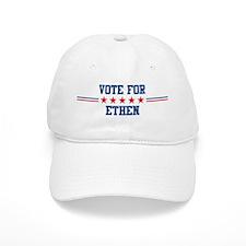 Vote for ETHEN Baseball Cap