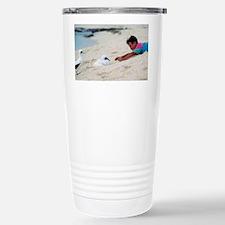 Boobies - Stainless Steel Travel Mug
