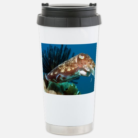 Broadclub cuttlefish - Stainless Steel Travel Mug
