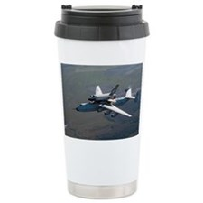 Buran space shuttle and carrier, 1989 - Travel Mug