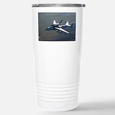 Buran space shuttle and carrier, 1989 - Travel Mug