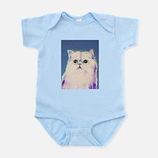 Pop art cat Infant Bodysuit