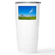 Corn ethanol processing plant - Travel Mug