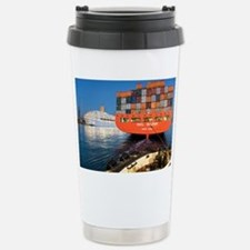 Container ship - Stainless Steel Travel Mug