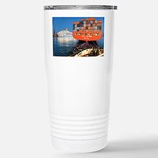 Container ship - Travel Mug