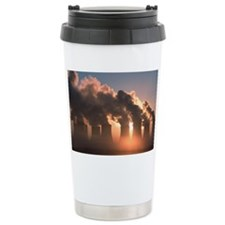 Cooling towers - Travel Coffee Mug