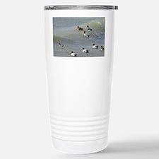 Eurasian wigeons - Stainless Steel Travel Mug