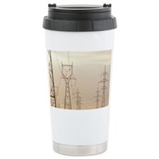 Electricity pylons - Travel Mug