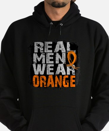 Real Men Leukemia Hoodie (dark)