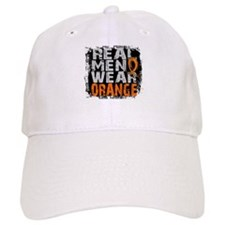 Real Men Leukemia Baseball Cap