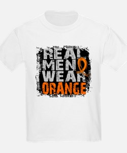 Real Men Leukemia T-Shirt