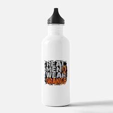 Real Men Leukemia Water Bottle