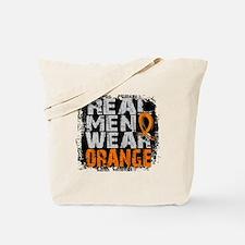 Real Men Leukemia Tote Bag