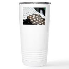 Frets on an electric guitar - Travel Mug