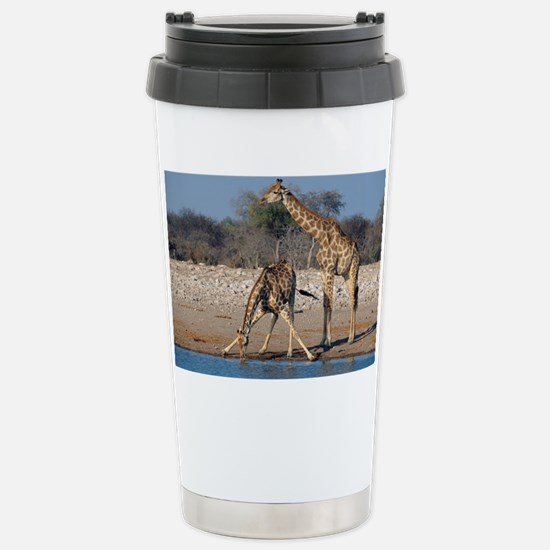 Giraffes - Stainless Steel Travel Mug