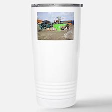 Glass crushing - Stainless Steel Travel Mug