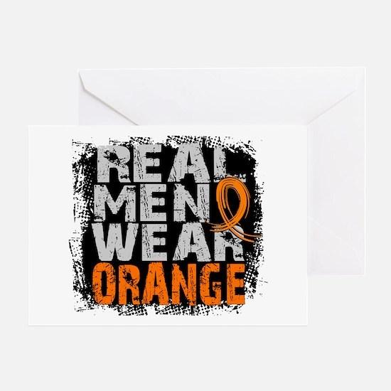 Real Men MS Greeting Card