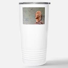 Humanoid robot head - Travel Mug