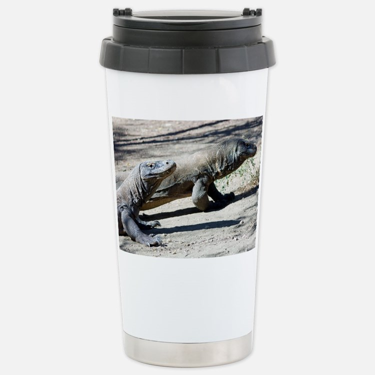Komodo dragons - Stainless Steel Travel Mug