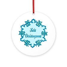 Kala Christonyenna Ornament (Round)