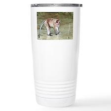 Long-tailed macaque - Travel Mug