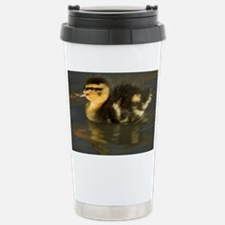 Mallard duckling - Stainless Steel Travel Mug