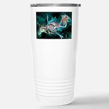 Mating pharaoh cuttlefish - Travel Mug
