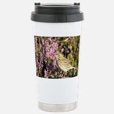Meadow pipit - Stainless Steel Travel Mug
