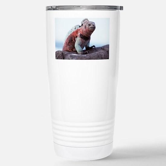 Marine iguana - Stainless Steel Travel Mug