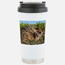 Ostrich chick - Stainless Steel Travel Mug