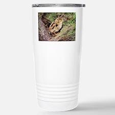 Pheasant chick - Stainless Steel Travel Mug