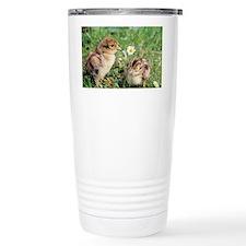 Pheasant chicks - Travel Mug
