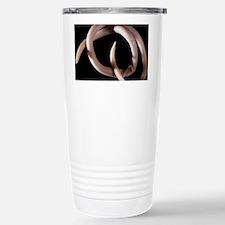 Parasitic nematode worm - Travel Mug