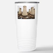 Power station cooling towers - Travel Mug