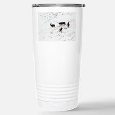 Red deer stags - Travel Mug