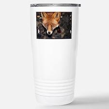 Red fox - Stainless Steel Travel Mug