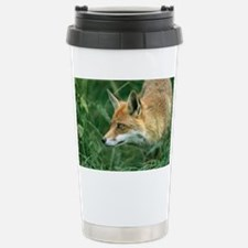 Red fox hunting - Stainless Steel Travel Mug