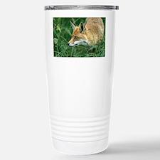 Red fox hunting - Travel Mug