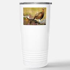 Red grouse - Stainless Steel Travel Mug