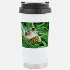Red-eyed tree frog - Stainless Steel Travel Mug